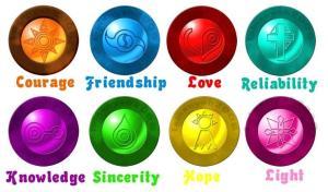 Os valores que Digimon passa