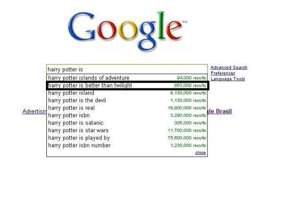 Sobre Harry Potter...